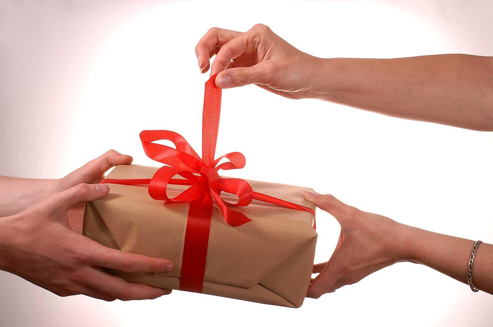 Стоящий подарок на английском