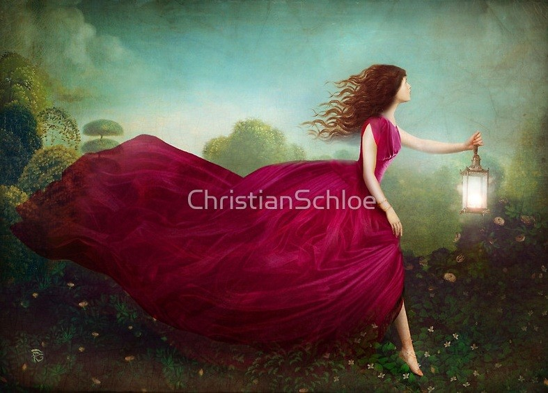 Платье в сюрреализме
