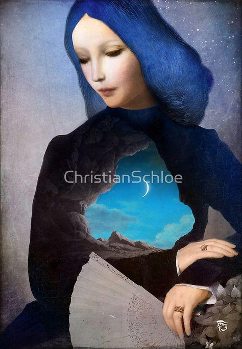 Кристиан склое christian schloe картины в