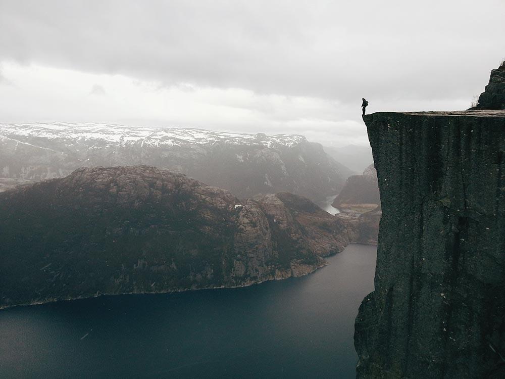 Путешествия прекестулен норвегия