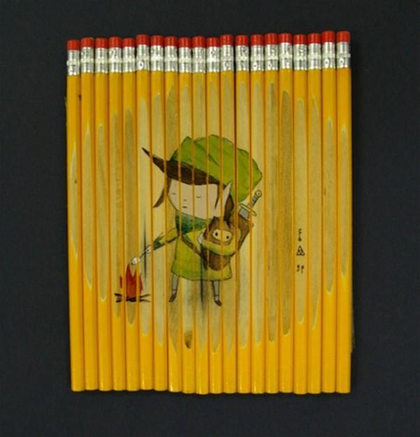 Рисунки на карандашах ghostpatrol