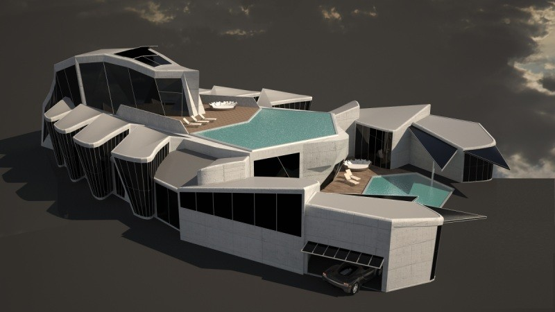Extravagant Villas: Scorpion by Vasily Klyukin