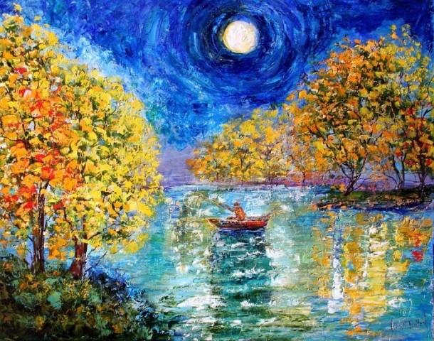 Современный художник импрессионист