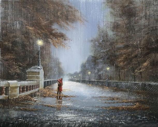 Дождливые картины джефф роланд jeff