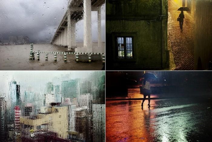 Дождливые фотографии Christophe Jacrot