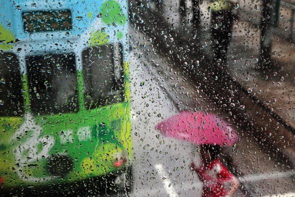 Гонг-Конг под дождем
