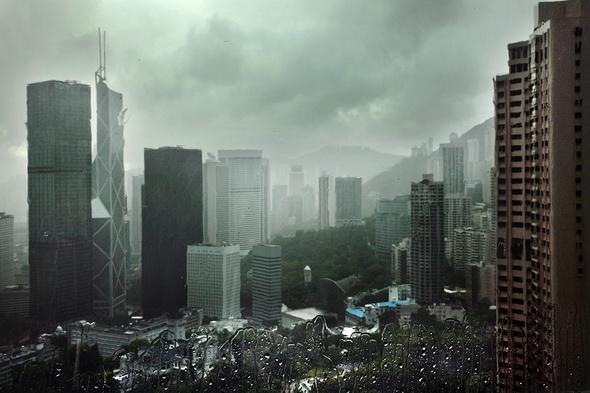 Фотографии дождя Кристофера Жакро - Гонг Конг