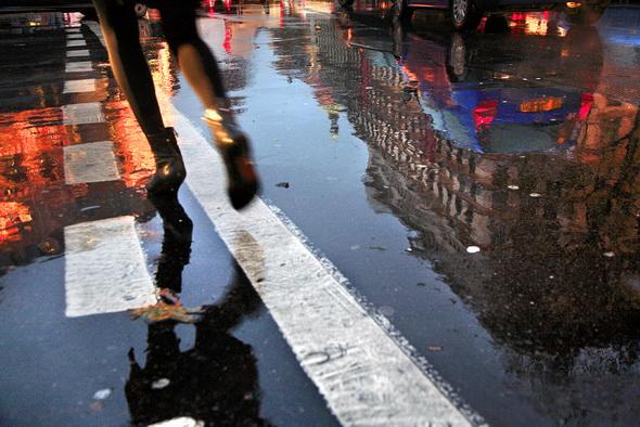 Фотография дождя - Париж