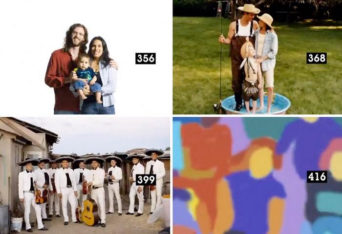 From love to bingo in 873 images — жизненное короткометражное кино