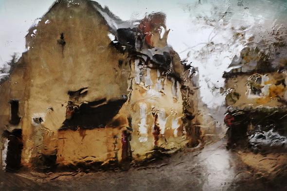 Серия фотографий - Звуки дождя от Кристофера Жакро