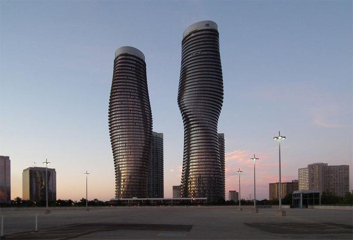 Absolute towers - ультрасовременный небоскреб