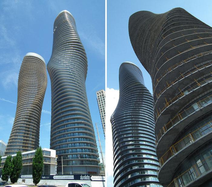 Ультрасовременный небоскреб Absolute towers