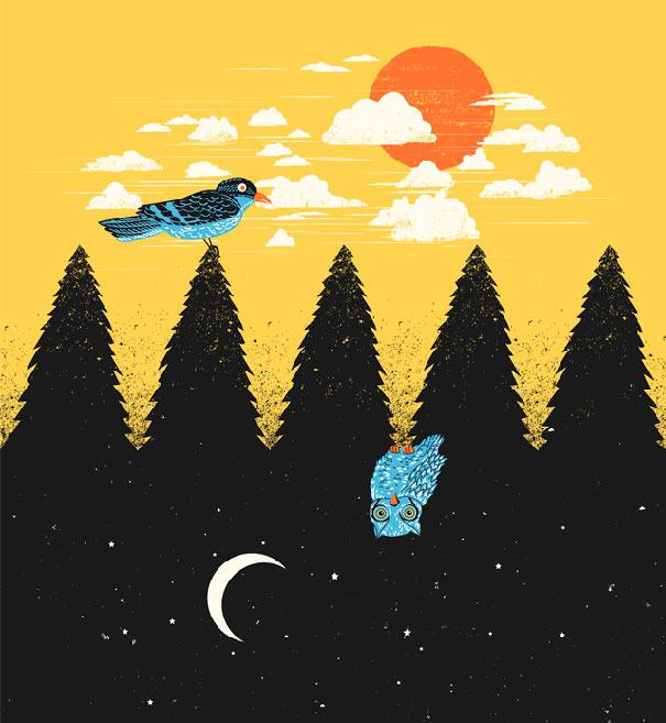 Иллюзорная иллюстрация Танг Яу Хунга №19