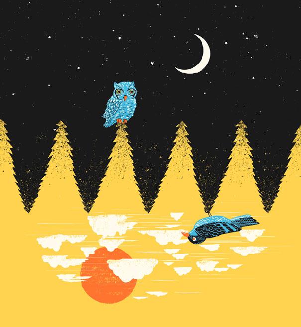 Иллюзорная иллюстрация Танг Яу Хунга №20