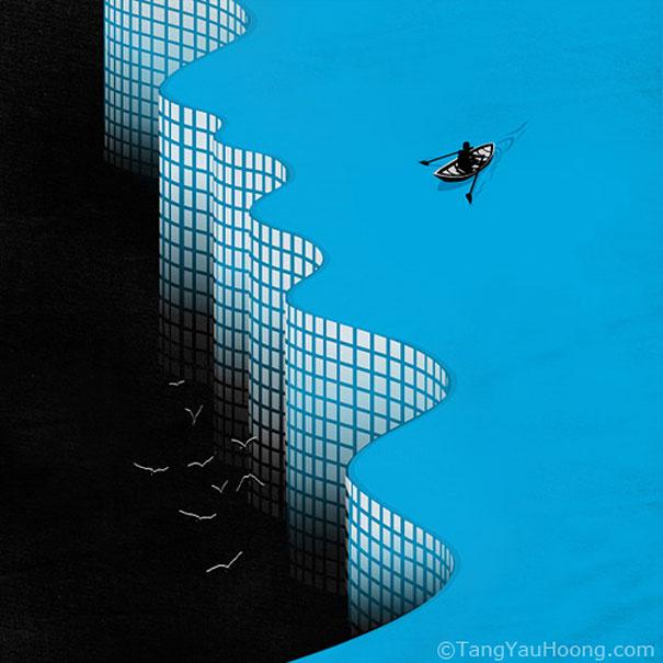Иллюзорная иллюстрация Танг Яу Хунга №21