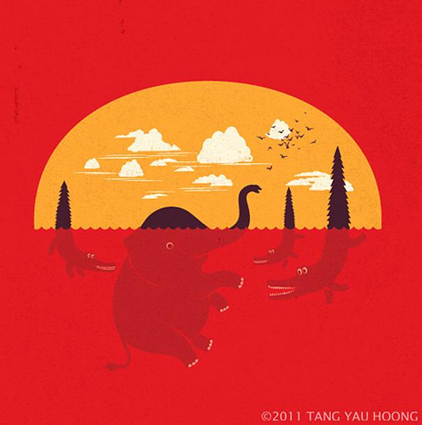 Иллюзорная иллюстрация Танг Яу Хунга №5