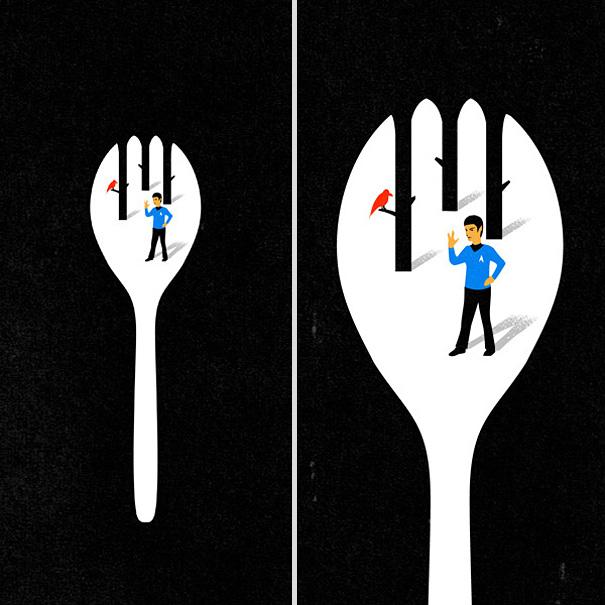 Иллюзорная иллюстрация Танг Яу Хунга №8