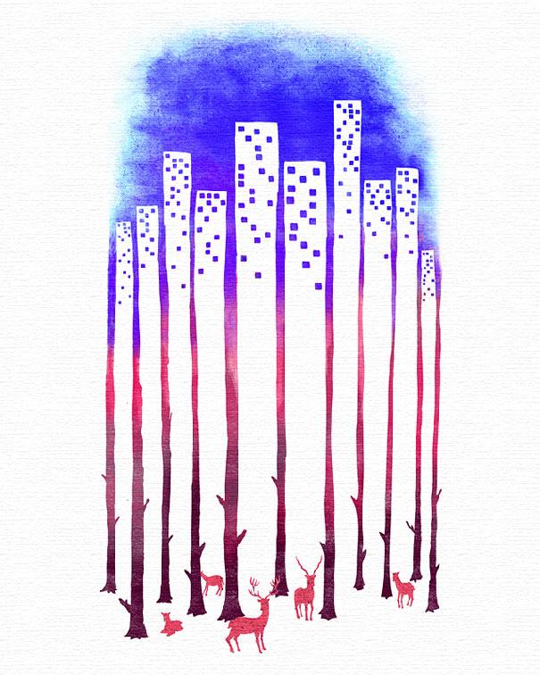 Иллюзорная иллюстрация Танг Яу Хунга №9