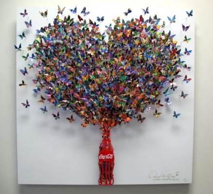 Мир искусства Дэвида Кракова - красивые бабочки