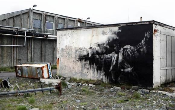 Уличное искусство Александре Фарто
