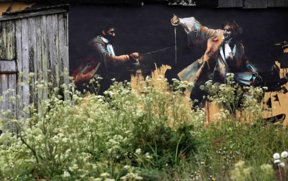Уличное искусство Вхилса