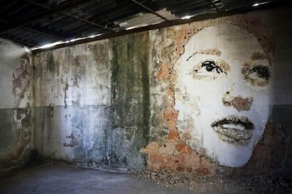 Уличное искусство от Вхилса