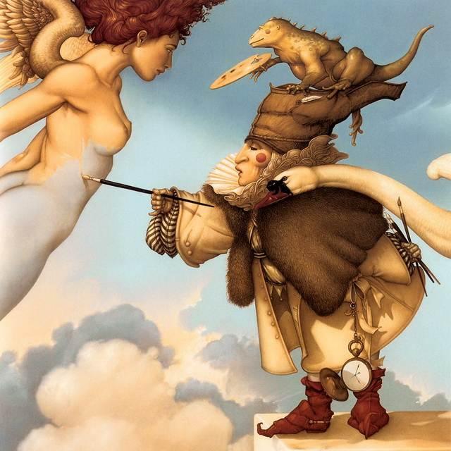 Магическкий реализм Паркеса - Небесный живописец