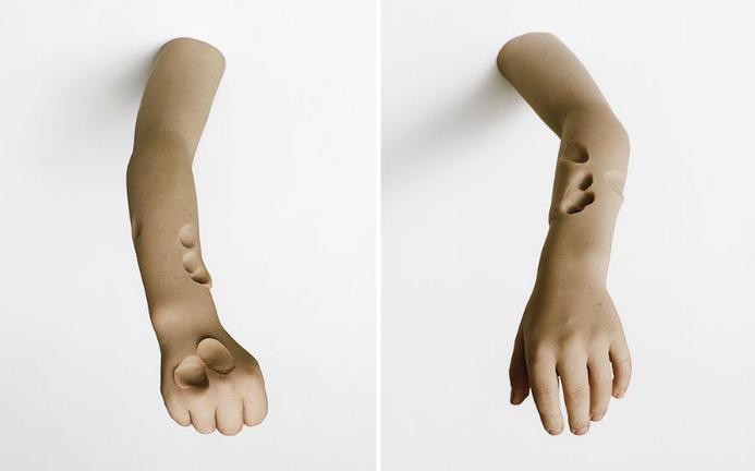Человеческое тело от скульптора Anders Krisar