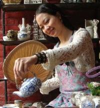 Художница Phan Thu Trang собственной персоной