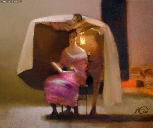 Картина «Верный свет», автор Евгений Кузнецов