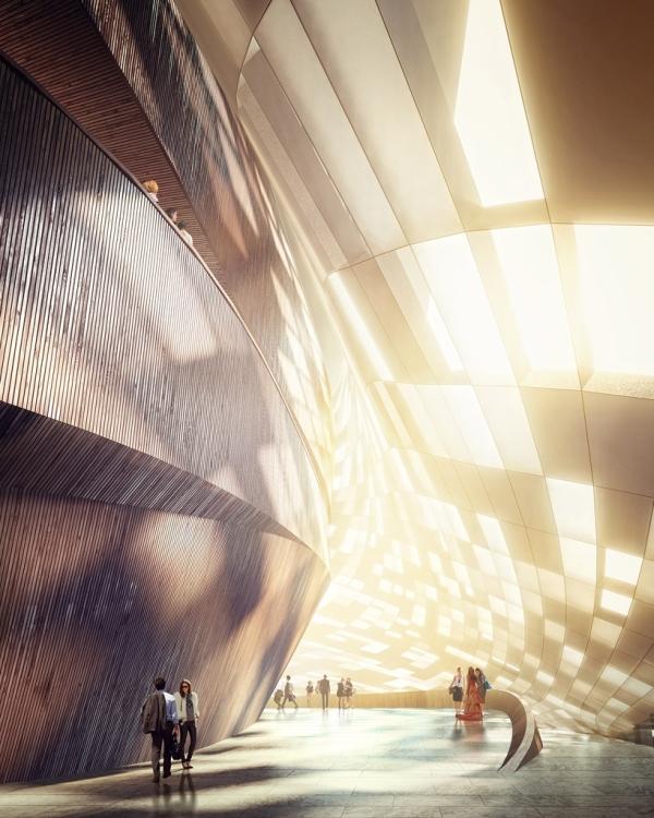 Будущий оперный театр в Пусане