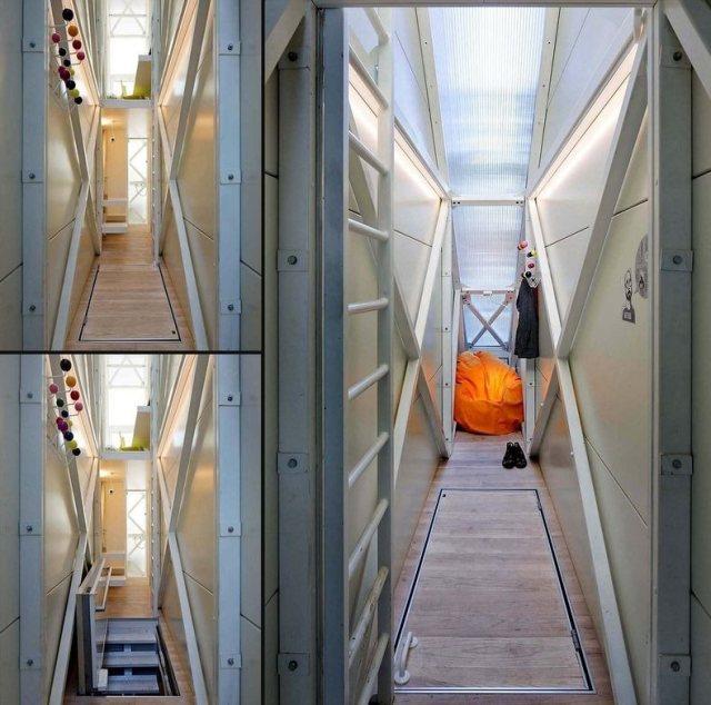 Творение израильского архитектора — самая узкая жилплощадь в мире