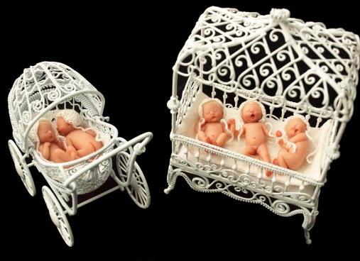 Крошечные куколки-младенцы Camille Allen - 4-5 см