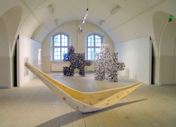 Ленд арт скульптуры от художника Jaakko Pernu
