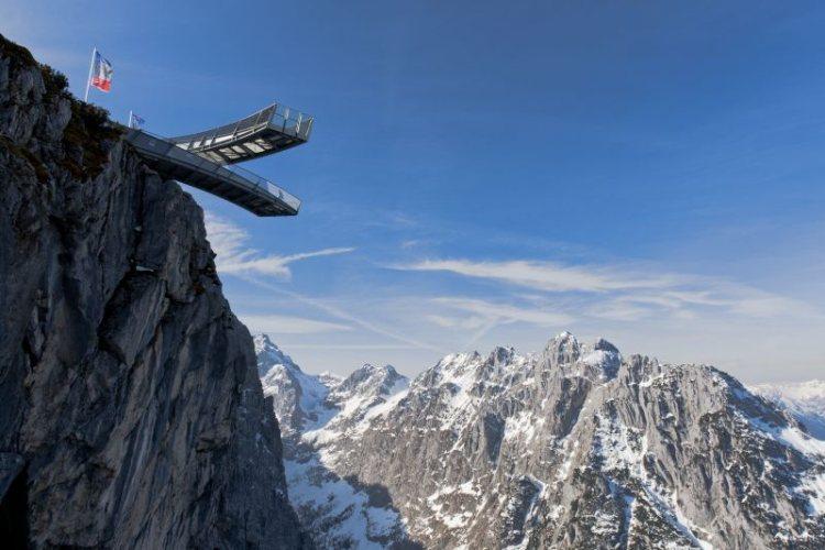 Вышка на горе Остерфельдеркопф (Германия).