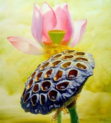 Работа китайского художника Jiang Debin