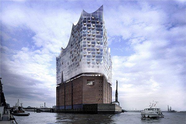 Гамбургская филармония (Германия).