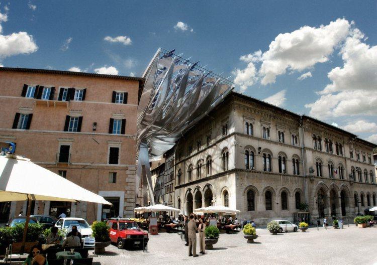 Энерго-пассаж в Перуджа (Италия).