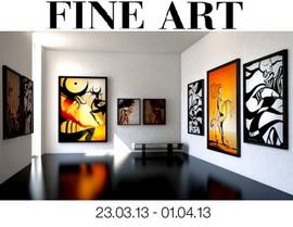 Выставка изящных искусств Fine Art – 2013, афиша