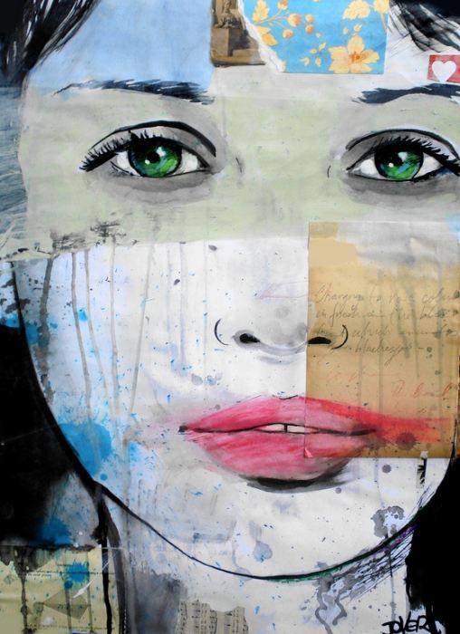 Австралийский художник Loui Jover.