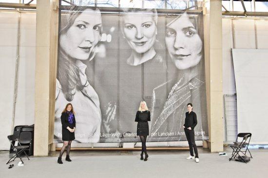 ЛУчшие дизайнеры Front Design Group: Sofia Lagerkvist, Anna Lindgren, Charlotte Lancken