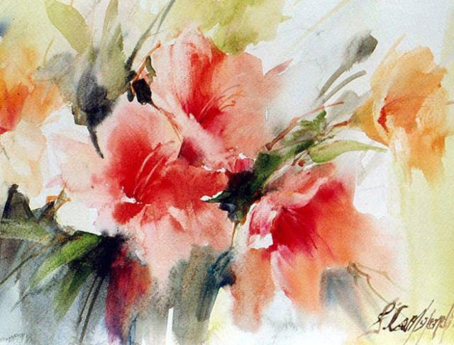 Цветы бразильского художника Fabio Cembranelli