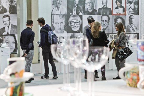 В павильоне выставки современного дизайна и архитектуры Arena Design – 2013