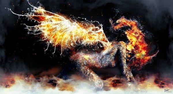 Красивые фотографии воды и огня