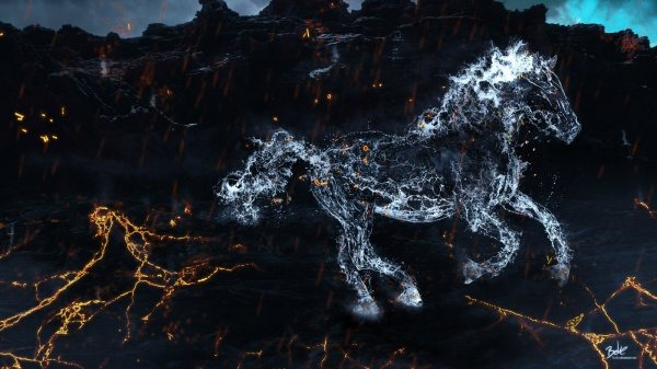 Красивые фотографии воды и огня от B-O-K-E