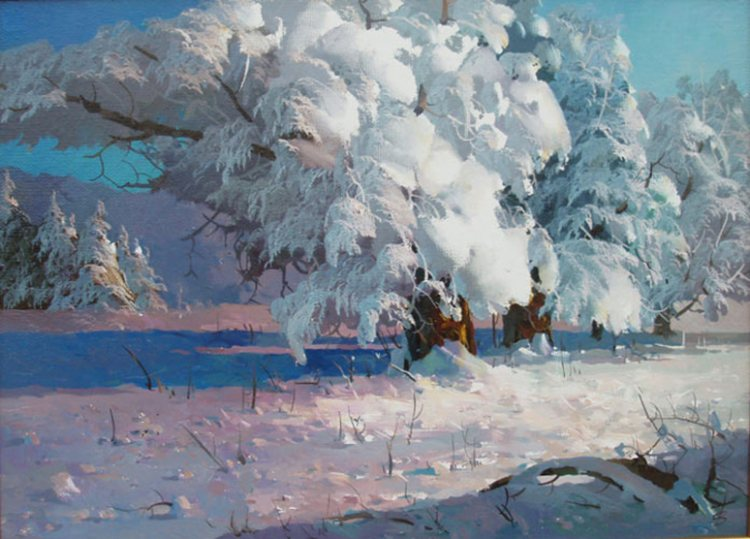 Реализм в масляной живописи В. Быкова.