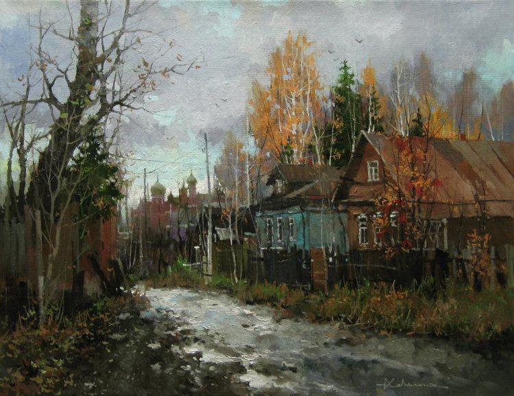 Пейзажи русских художников cовременное искусство contemporary art Живопись современного художника