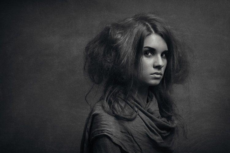 Авторский портрет.