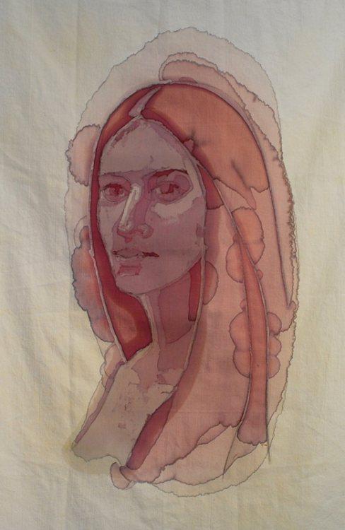 Портреты, нарисованные вином от Amelia Fais Harnas.