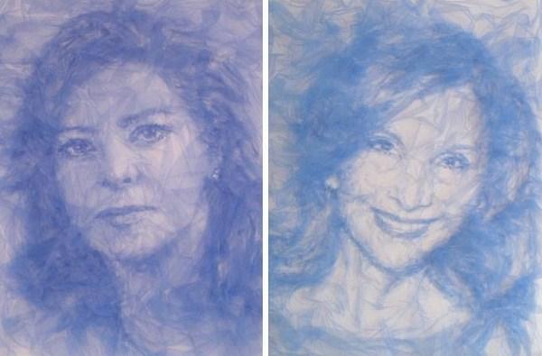Benjamin Shine, Tulle Portraits
